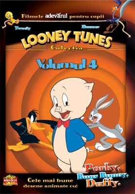Looney Tunes DVD 4 - Porky Pig, Bugs Bunny, Daffy Duck